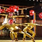【茨城県護国神社】境内で半裸ライブ
