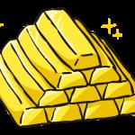 【貴族の実験】450万円の金塊を油圧プレスで贅沢に潰してみると…